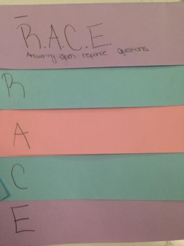 RACE open response formula